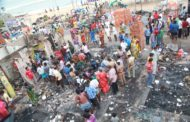 பெசன்ட் நகர் குடிசைப்பகுதியில் தீவிபத்து - நாம் தமிழர் கட்சியினர் நேரில் சந்தித்து ஆறுதல்