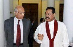 Shivshankar Menon with rajpaksha