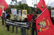 மாணவர் போராட்டத்திற்கு ஆதரவாக நியூசிலாந்து இளையோர் அமைப்பு போராட்டம்