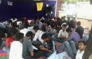கருப்பூரில் உள்ள பெரியார் பல்கலைக்கழக மாணவர்கள் உண்ணாநிலைபோராட்டம்