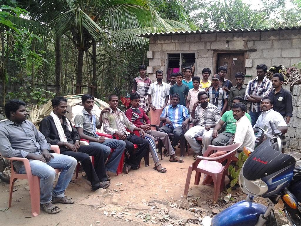 கன்னியாகுமரி மாவட்டம் வேர்கிளம்பி பேரூராட்சி செங்கொடிகிராமத்தில் கலந்தாய்வு.