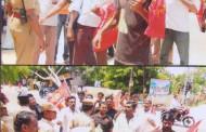 இனப் படுகொளையாளன் ராஜபக்சே இந்திய வருகையை கண்டித்து கோவில்பட்டி தபால் நிலையம் முற்றுகை