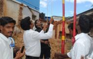 தேனி மாவட்டம்- கோம்பை நகரத்தில் கொடியேற்ற நிகழ்ச்சி நடைபெற்றது.