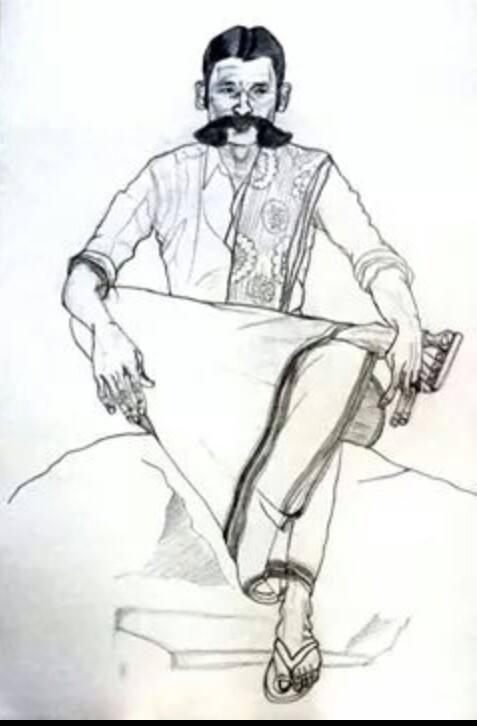 'எல்லைக்காவல் தெய்வம்' வீரப்பனாருக்கு நாம் தமிழர் கட்சியின் சார்பில் அவரின் நினைவிடத்தில் வீரவணக்கம் செலுத்தப்பட்டது