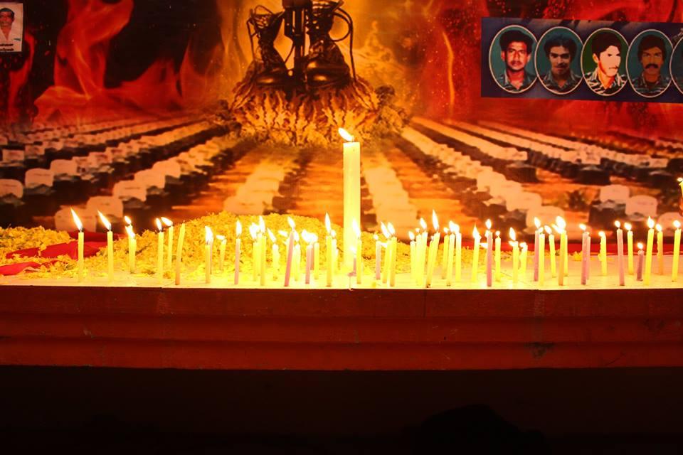 தஞ்சை கிழக்கு மாவட்டம், குடந்தையில் மாவீரர் நாள் நிகழ்வு நடைபெற்றது