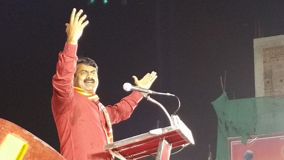 திருவள்ளூர் தெற்கு மாவட்டம் சார்பாக, தேசியத்தலைவர் பிறந்த நாள் பொதுக்கூட்டம் கொரட்டூரில் நடந்தது.