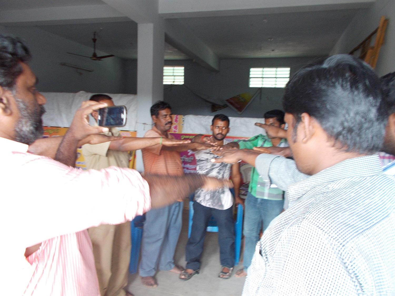 சேலம் மாவட்டத்தில் கலந்தைவுகூட்டம் 04.05.2015 அன்று நடைப்பெற்றது.