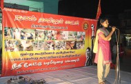 திருவள்ளூர் தொகுதி கடம்பத்தூரில் தெருமுனைக்கூட்டம் நடைபெற்றது