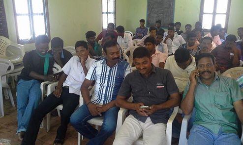 வேதாரண்யம் தொகுதியின் செயல்வீரர்கள் கூட்டம் நடைபெற்றது.