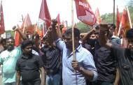 சிவகங்கையில் சாராய தொழிற்சாலையை முற்றுகைப் போராட்டம் நடந்தது