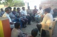 தேனியில் மாவட்டக் கலந்தாய்வுக்கூட்டம் நடைபெற்றது.
