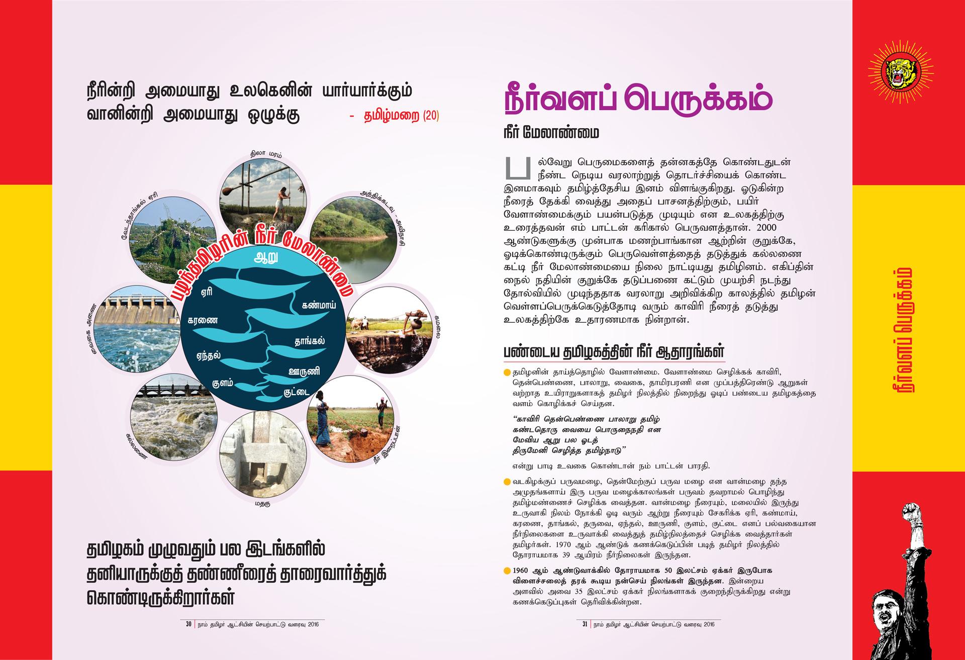 நீர்வளப் பெருக்கம் - நாம் தமிழர் ஆட்சி செயற்பாட்டு வரைவு | மக்களரசு