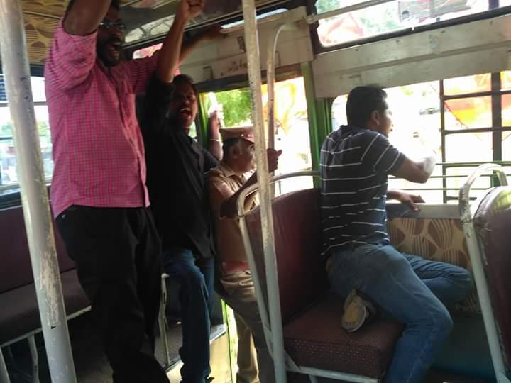 நீட் தேர்வினை இரத்து செய்யக்கோரி சிவகாசியில் தொடர்வண்டியை மறித்து போராட்டம் viruthunagar sivagasi naam tamilar protest anitha suicide neet 4