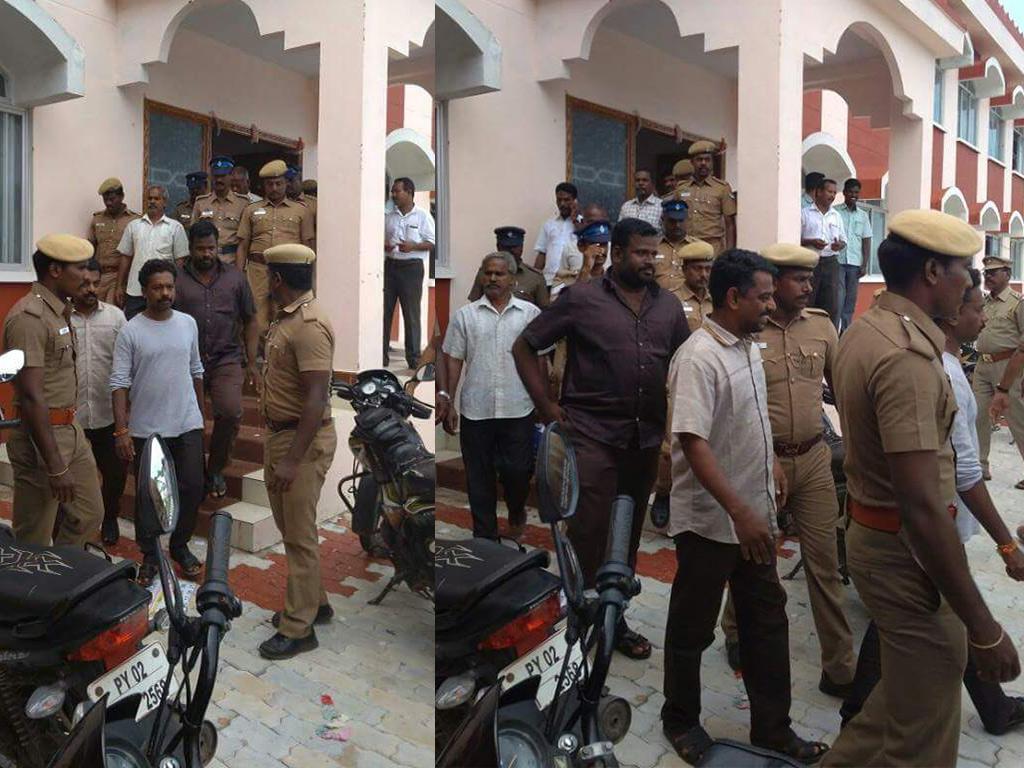 ஒ.என்.ஜி.சி.க்கு எதிராகப் போராடியதற்காக நாம் தமிழர் கட்சியினர் கைது – சீமான் கண்டனம்! nannilam naam tamilar katchi ongc protesters detained arrested by police seeman condemn
