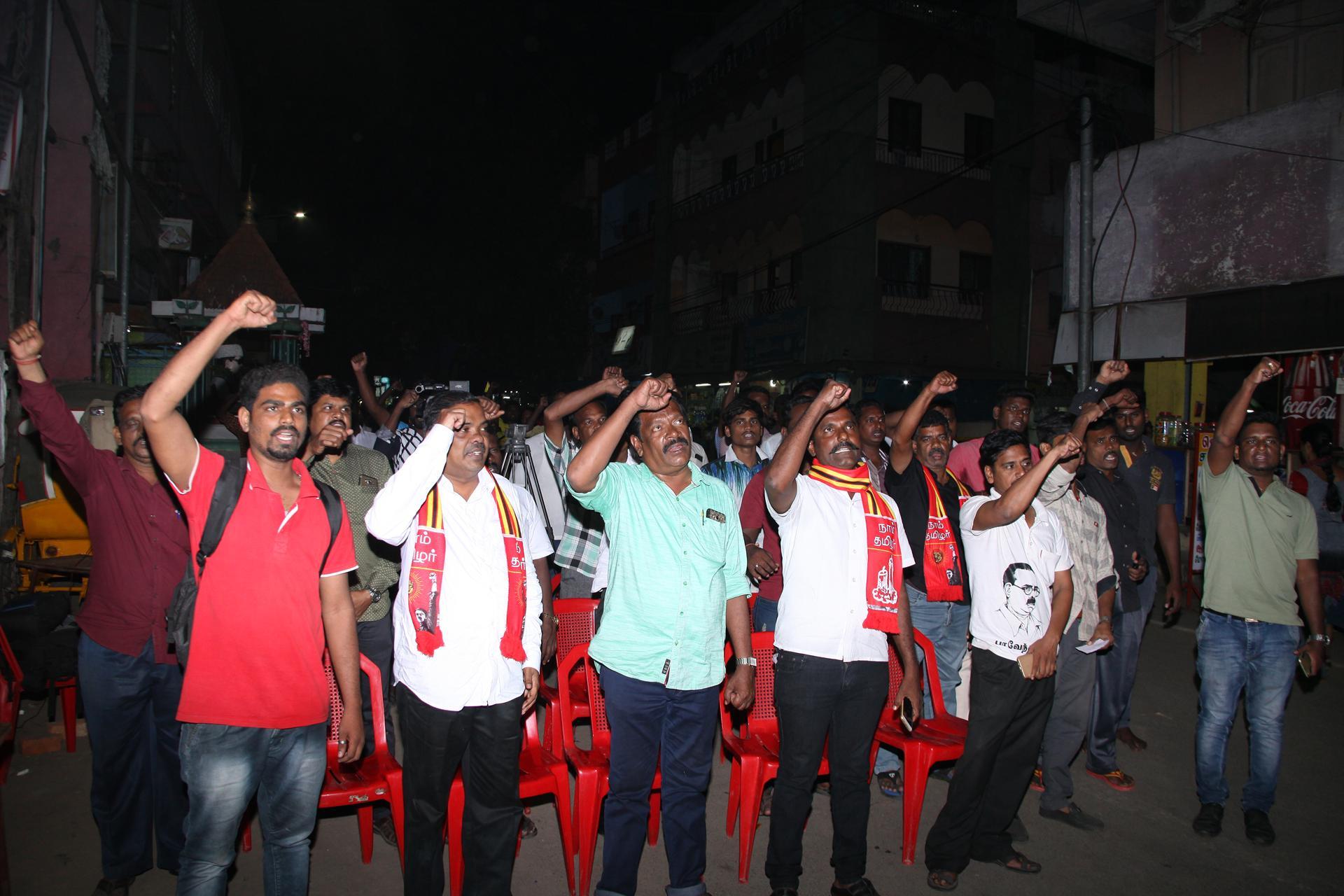 ஆர்.கே நகர் தேர்தல்: 07-12-2017 ஏழாம் நாள் வாக்கு சேகரிப்பு மற்றும் தெருமுனைக்கூட்டம்