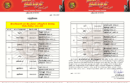 சுற்றறிக்கை: ஆர்.கே நகர் இடைத்தேர்தலுக்கான பணிக்குழு மாவட்டவாரியாக அமைத்தல் தொடர்பாக