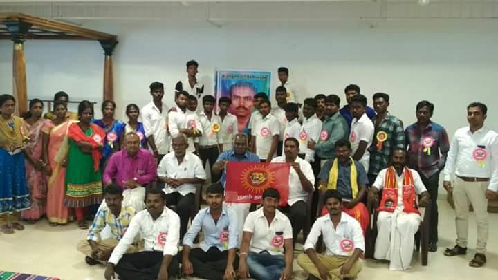 காயாமொழி ஊராட்சி சார்பாக நடத்திய அரசு மாதிாி வினா விடை தேர்வின் முடிவுகள் kaayamozhi naam tamilar katchi conducted arasu mathiri vina vidai thervu 28 01 2018 govt model exam group photo