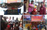 கிருட்டிணகிரி மாவட்டத்தில் பல்வேறு இடங்களில் தாகம் தீர்க்கும் நீர்-மோர் பந்தல் திறப்பு