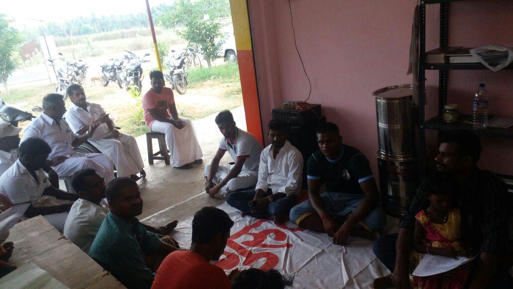 புதிய பொறுப்பாளர்கள் கலந்துரையாடல் கூட்டம் - உரத்தநாடு சட்டமன்றத் தொகுதி