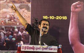சென்னை -கள்ளிக்குப்பம் மக்களின் கோரிக்கைகளை வலியுறுத்தி சீமான் தலைமையில் ஆர்ப்பாட்டம்