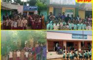 பள்ளிக்குழந்தைகளுக்கு நிலவேம்பு சாறு வழங்குதல்-தென்காசி தொகுதி