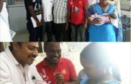 தலைவர் மேதகு வே பிரபாகரன் பிறந்த நாள் விழா- குழந்தைக்கு தங்க மோதிரம் அணிவிப்பு-