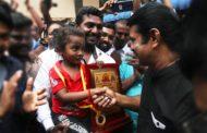 வில் வித்தைப் போட்டியில் உலகச் சாதனைப் படைத்த 3 வயது சிறுமி சஞ்சனா - சீமானுடன் சந்திப்பு