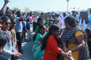 கத்தாரில் செந்தமிழர் பாசறை சார்பாக தைத்திருநாள் தமிழர்த் திருவிழாக் கொண்டாட்டங்கள் senthamizhar pasarai qatar pongal thiruvizha tamils festival celebration thamizhar thiruvizha 6 300x200