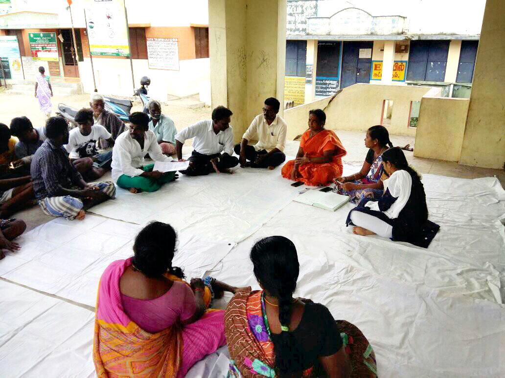 கிராமசபை கூட்டம்- இளைஞர் பாசறை மனு
