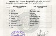அறிவிப்பு: சட்டமன்றத் தேர்தல் ஆண்-பெண் வேட்பாளர்களுக்கான தொகுதி விவரங்கள்
