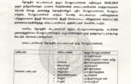 சுற்றறிக்கை: மாவட்டவாரியாக தொகுதிக் கட்டமைப்புக் குழு பொறுப்பாளர்கள் பயணத்திட்டம்