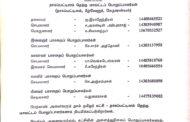 அறிவிப்பு: நாகப்பட்டினம் தெற்கு மாவட்டப் பொறுப்பாளர்கள் | க.எண்: 2019030053 | நாள்: 21.03.2019