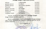 தலைமை அறிவிப்பு: கொளத்தூர் தொகுதிப் பொறுப்பாளர்கள் நியமனம் | க.எண்: 2019060096