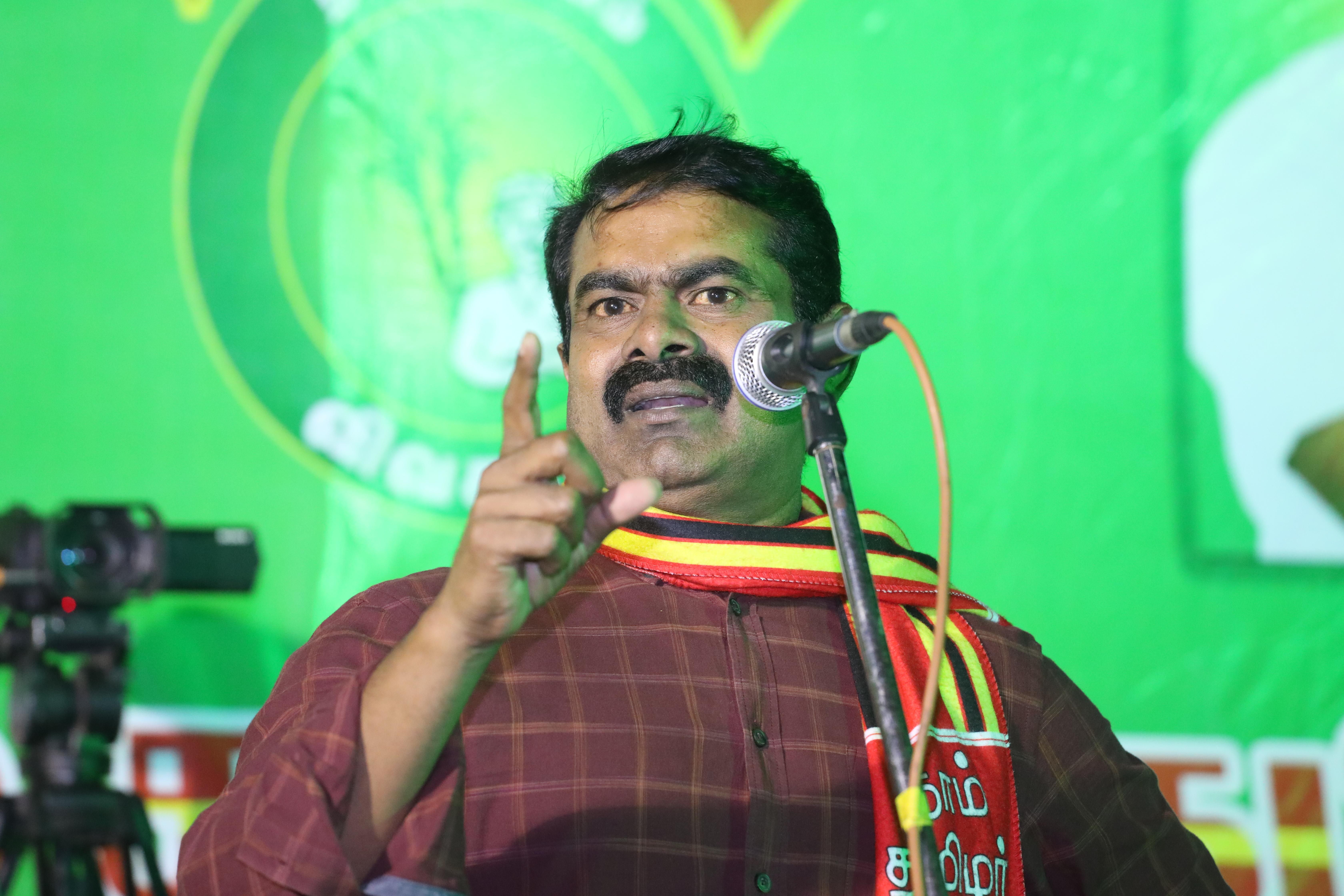 naam tamilar katchi seeman protest against hydrocabon project tamilnadu delta