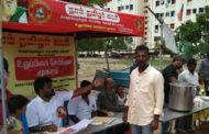 உறுப்பினர் சேர்க்கை முகாம்-நீர் மோர் வழங்குதல்-சோழிங்கநல்லூர்