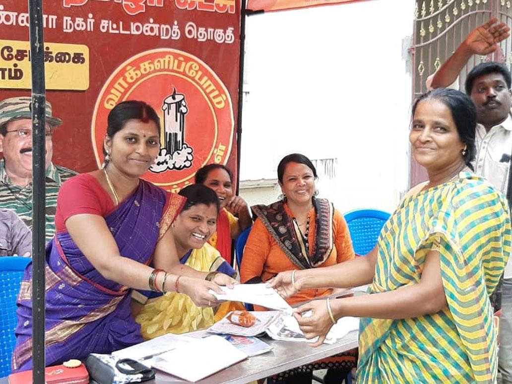 உறுப்பினர் சேர்க்கை முகாம்-மகளிர் பாசறை-அண்ணா நகர்