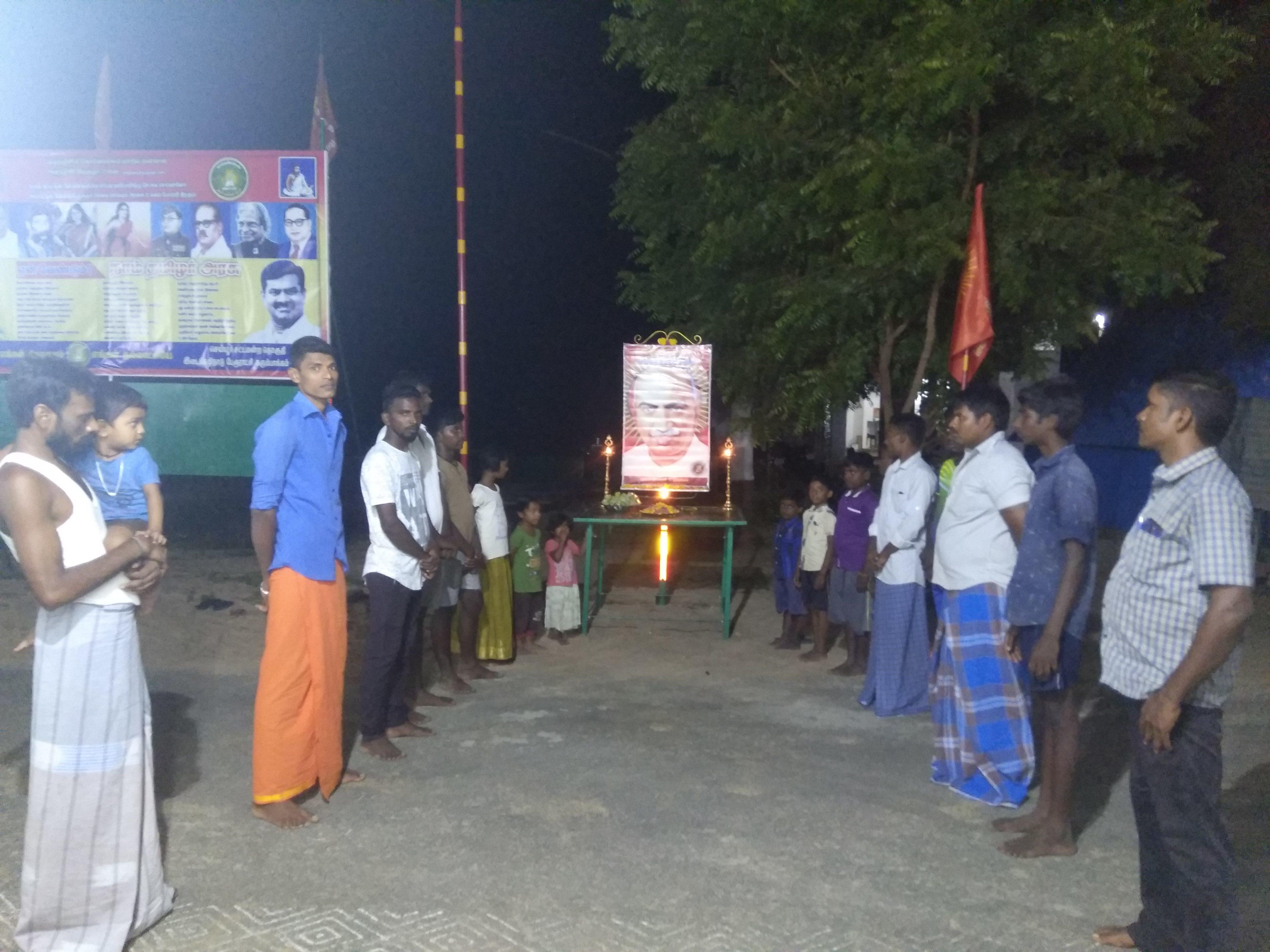 பெருந்தலைவர் ஐயா #காமராசர் மலர்வணக்க நிகழ்வு -செய்யூர் தொகுதி