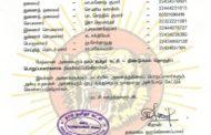 தலைமை அறிவிப்பு: திண்டுக்கல் தொகுதிப் பொறுப்பாளர்கள் நியமனம் - 2019