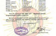 தலைமை அறிவிப்பு: திருமங்கலம் தொகுதிப் பொறுப்பாளர்கள் நியமனம் - 2019