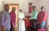 தலைவர் பிறந்த நாள் விழா-முதியோர் இல்லத்தில் உதவி :குன்னூர்