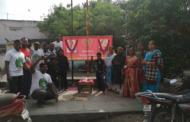 நெல் செயராமன் மற்றும் சட்ட மேதை அம்பேத்கர் மலர் வணக்கம்