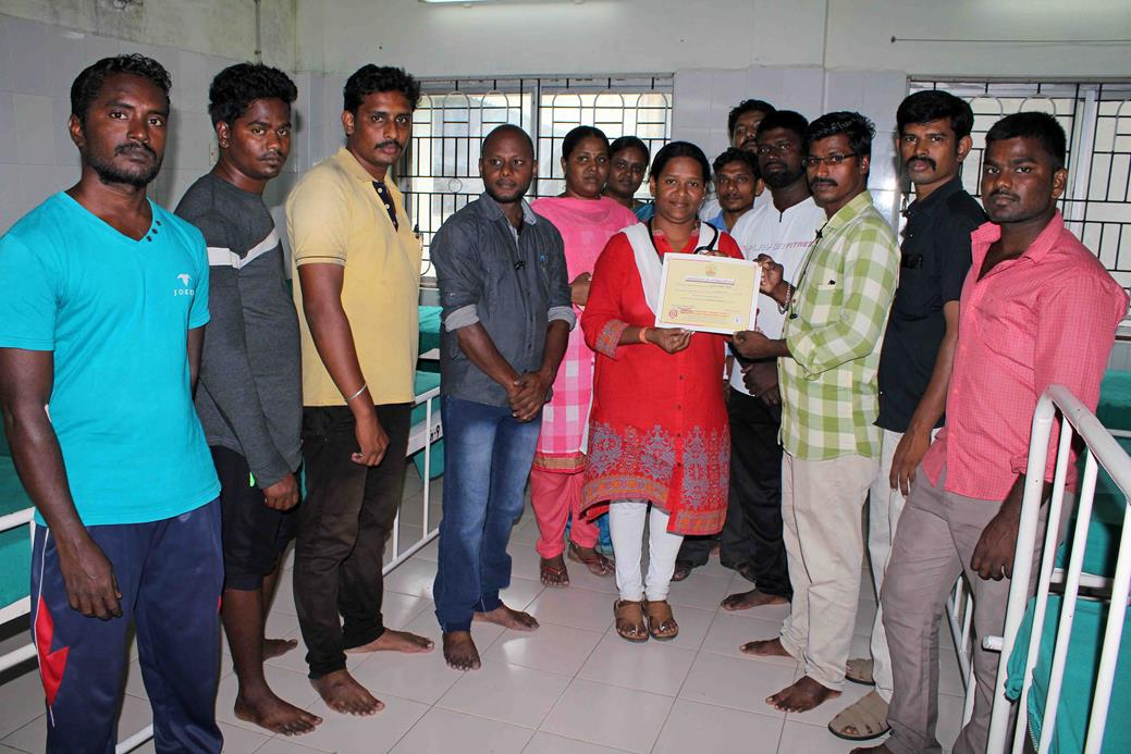 தலைவர் பிறந்த நாள் விழா :குருதிக்கொடை முகாம்