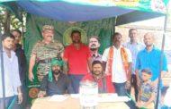 உறுப்பினர் சேர்க்கை முகாம் மற்றும் நிலவேம்பு கசாயம் வழங்கும் நிகழ்வு
