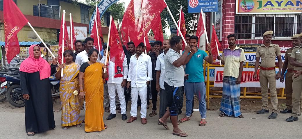 சட்டமேதை அண்ணல் அம்பேத்கர் நினைவு நாள் :சங்கராபுரம்