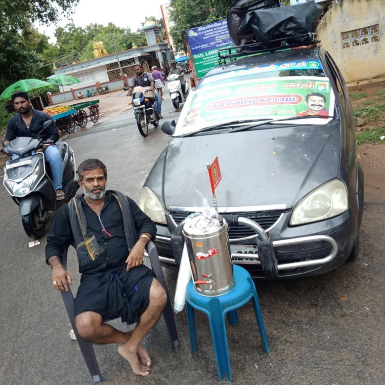 உறுப்பினர் சேர்க்கை முகாம்:அரக்கோணம் நாம் தமிழர் கட்சி