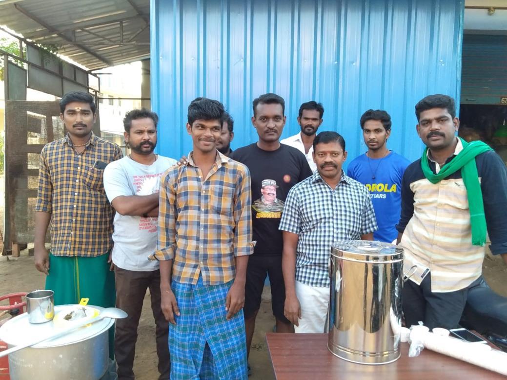 நிலவேம்பு கசாயம் வழங்கும் நிகழ்வு-சிவகாசி சட்டமன்றத் தொகுதி