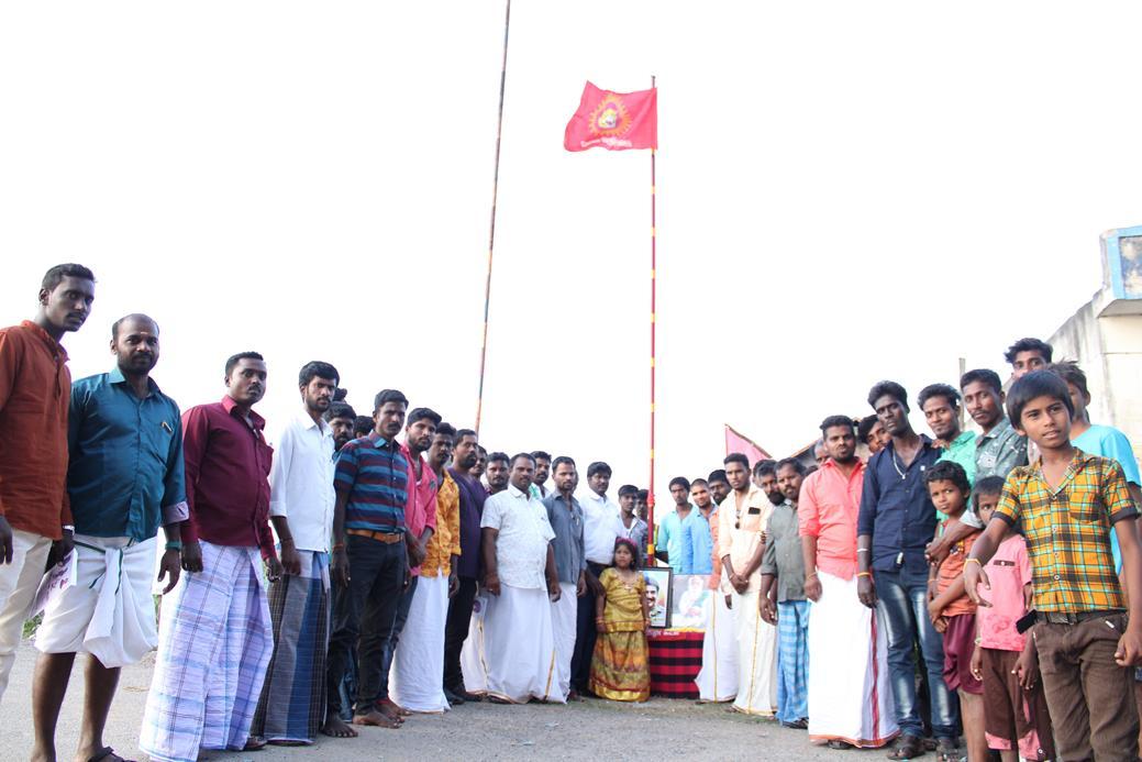 கொடி ஏற்றும் நிகழ்வு-திருத்தணி சட்டமன்றத் தொகுதி