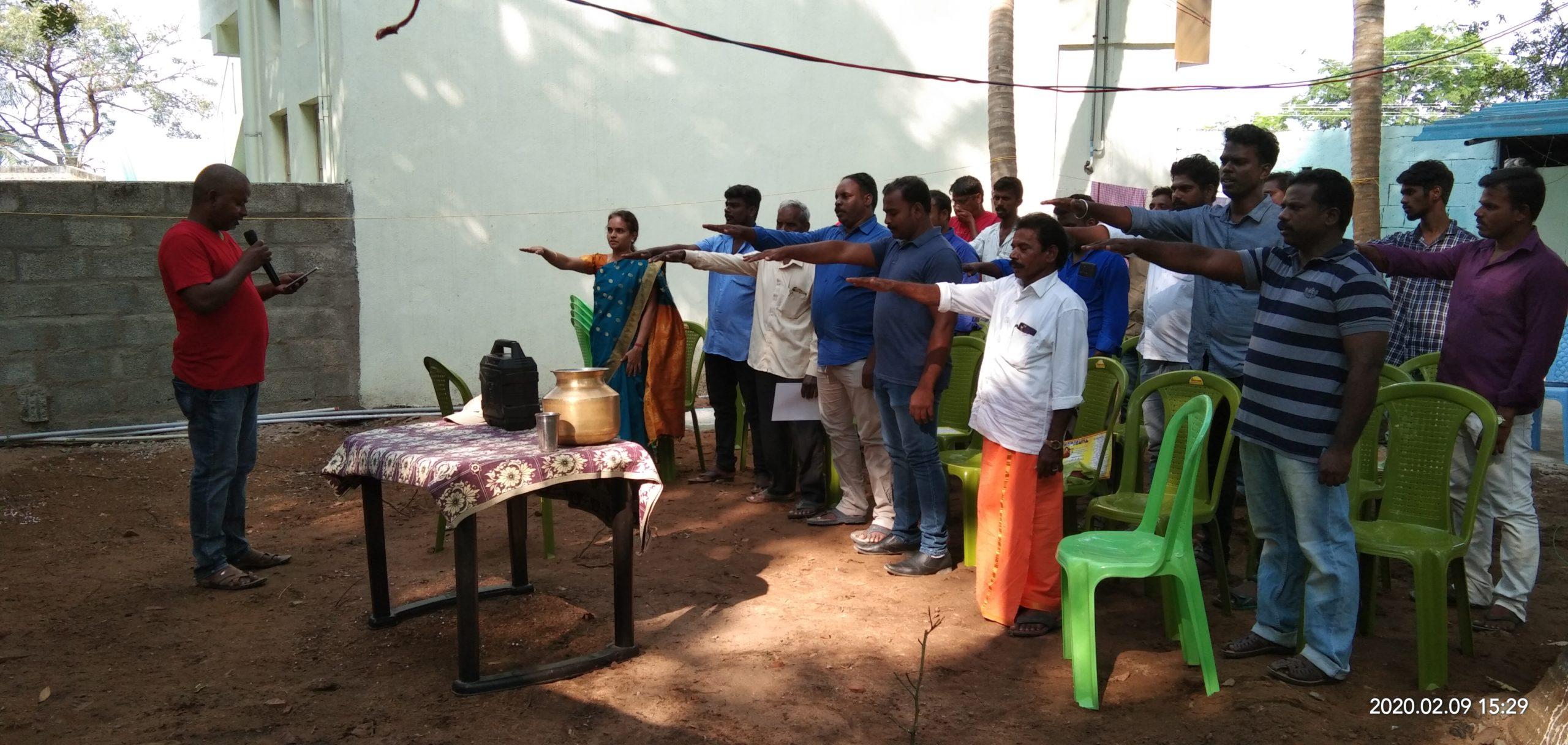 கலந்தாய்வு கூட்டம்-திருப்போரூர் தொகுதி