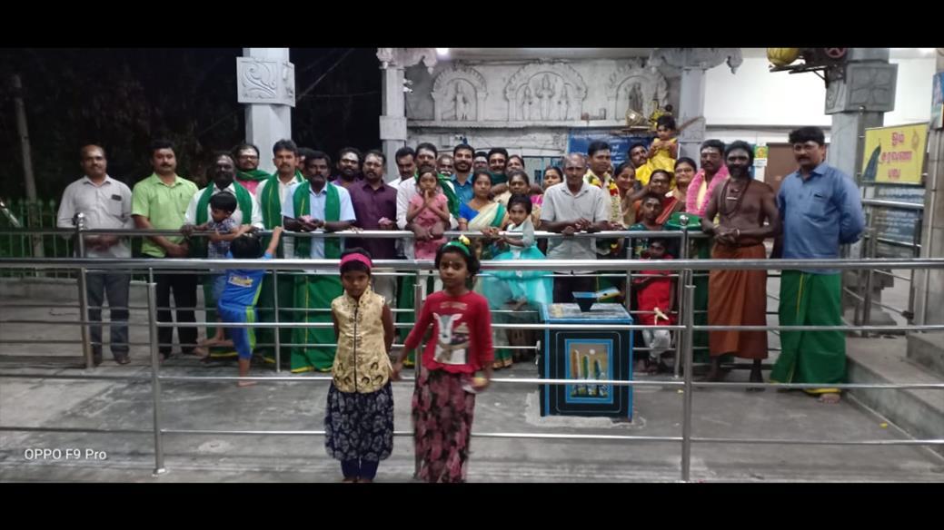 தைப்பூசத் திருவிழா-வேல்வழிபாடு- கவுண்டம்பாளையம் சட்டமன்றத்தொகுதி