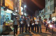 விழிப்புணர்வு துண்டறிக்கை விநியோகம் -சிவகாசி சட்டமன்றத்தொகுதி